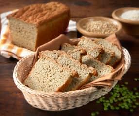 Pan de soja verde, maíz y garbanzos