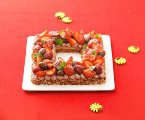Tarte pascale aux fruits rouges