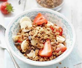 Extra ořechovo-semínková granola