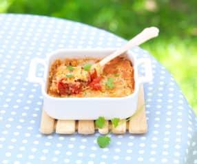 Pomidory zapiekane pod kruszonką