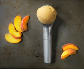 Peach Yogurt Ice cream