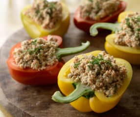 Dill Stuffed Peppers