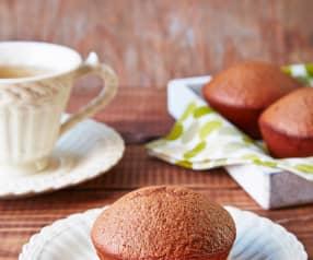 Muffins de Nutella (sin gluten)