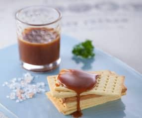 焦糖與榛果巧克力奶油抹醬