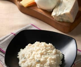 Risotto cuatro quesos
