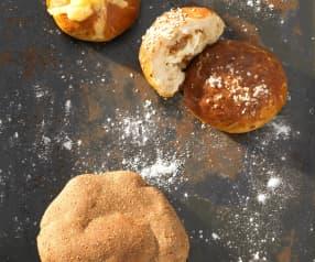 Louhované cibulovo-sýrové bochánky