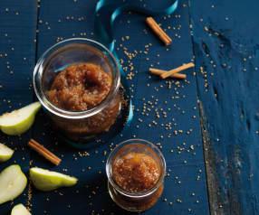 Chutney de pera e mostarda