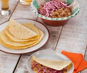 Wieprzowina w tortilli po meksykańsku