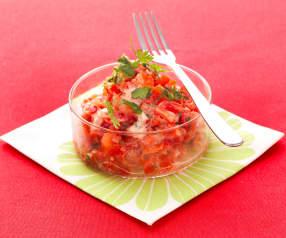 Tartare di pomodori e peperoni