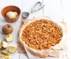 Eenvoudige appeltaart