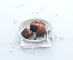 Moelleux miel chocolat coeur fondant