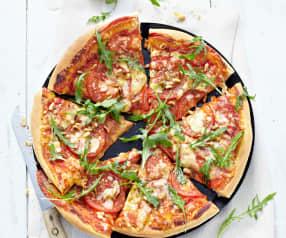 Pizza tomate et roquette