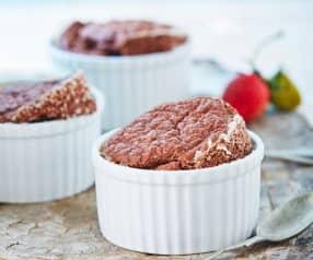 Soufflé de chocolate (sin harina ni leche)