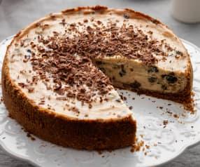 Baked Christmas Pudding Cheesecake