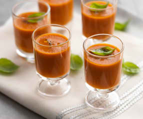 Roasted Red Pepper Shots