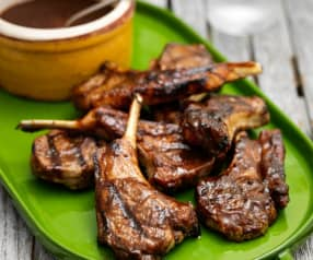 Tamarind and Chilli Barbecued Lamb Chops