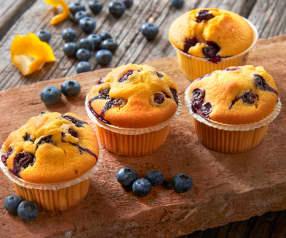 Muffin ai frutti di bosco (senza lattosio)