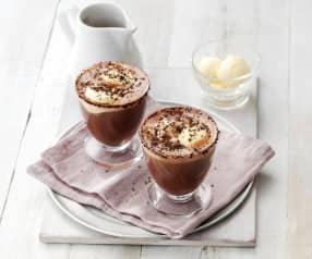 Affogato de chocolate