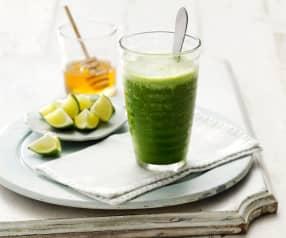 Succo alle mele, lime e verdure