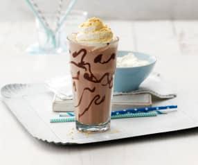 Erdnusscreme-Milchshake
