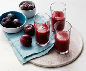 Smoothie prune et mûre