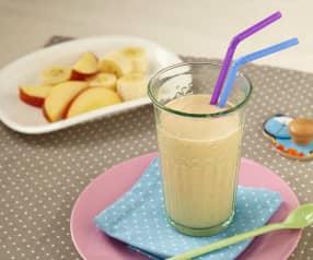 Banánovo-jablečný koktejl