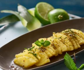 Ananas al cartoccio