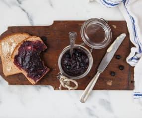 Heidelbeer-Blutorangen-Marmelade mit Ingwer