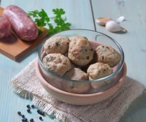Pulpety z wołowiny i kiełbasy wieprzowej
