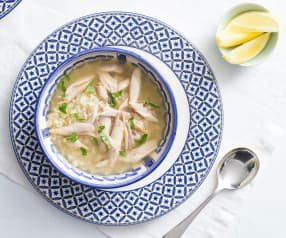 Chicken Soup with Egg and Lemon (Avgolemono)