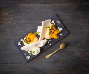 Orange and passionfruit Eton mess