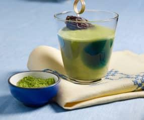 Hafer-Matcha-Latte