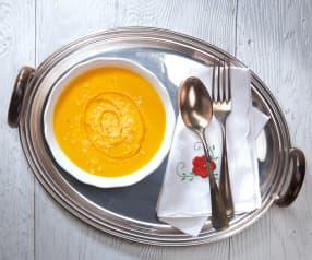 Soupe onctueuse au fenouil et à la carotte