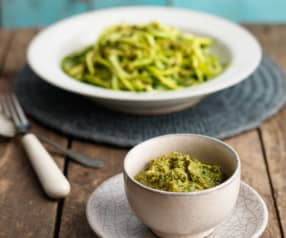 Macadamia and Lime Basil Pesto