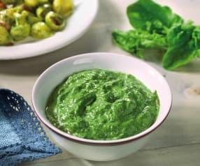 Sugo di spinaci veloce