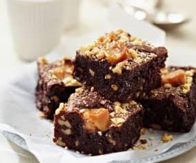 Karamell-Nuss-Brownies