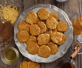 Chai masala sušenky (bez cukru)