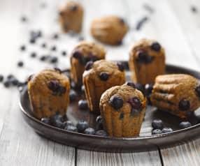 Borůvkové muffiny ze špaldy (bez cukru)