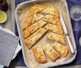 Pan de cuatro quesos para compartir