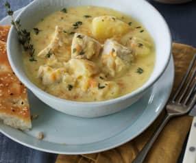 Creamy Mustard Chicken Stew
