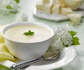 Jemná celerová polévka s ovesnými vločkami