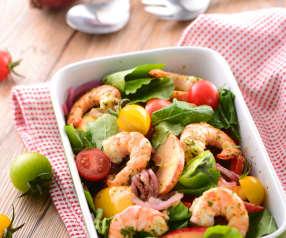 義式鮮蝦沙拉