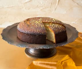 Cardamom And Lime Syrup Cake