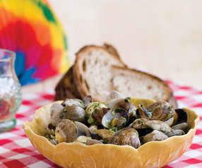 Clams with Garlic Sauce