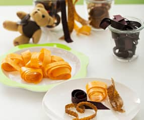 Tiras de frutas deshidratadas (Leather fruit)
