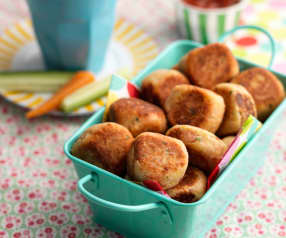 Chickpea and Ham Balls