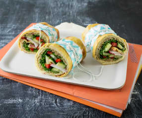 Quinoa wrapy pro silné chlapy