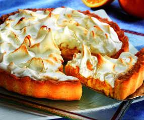 Crostata meringata all'arancia