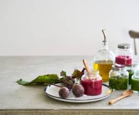 Pesto de rúcula e noz