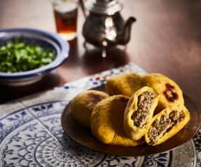 Stuffed Moroccan Breads